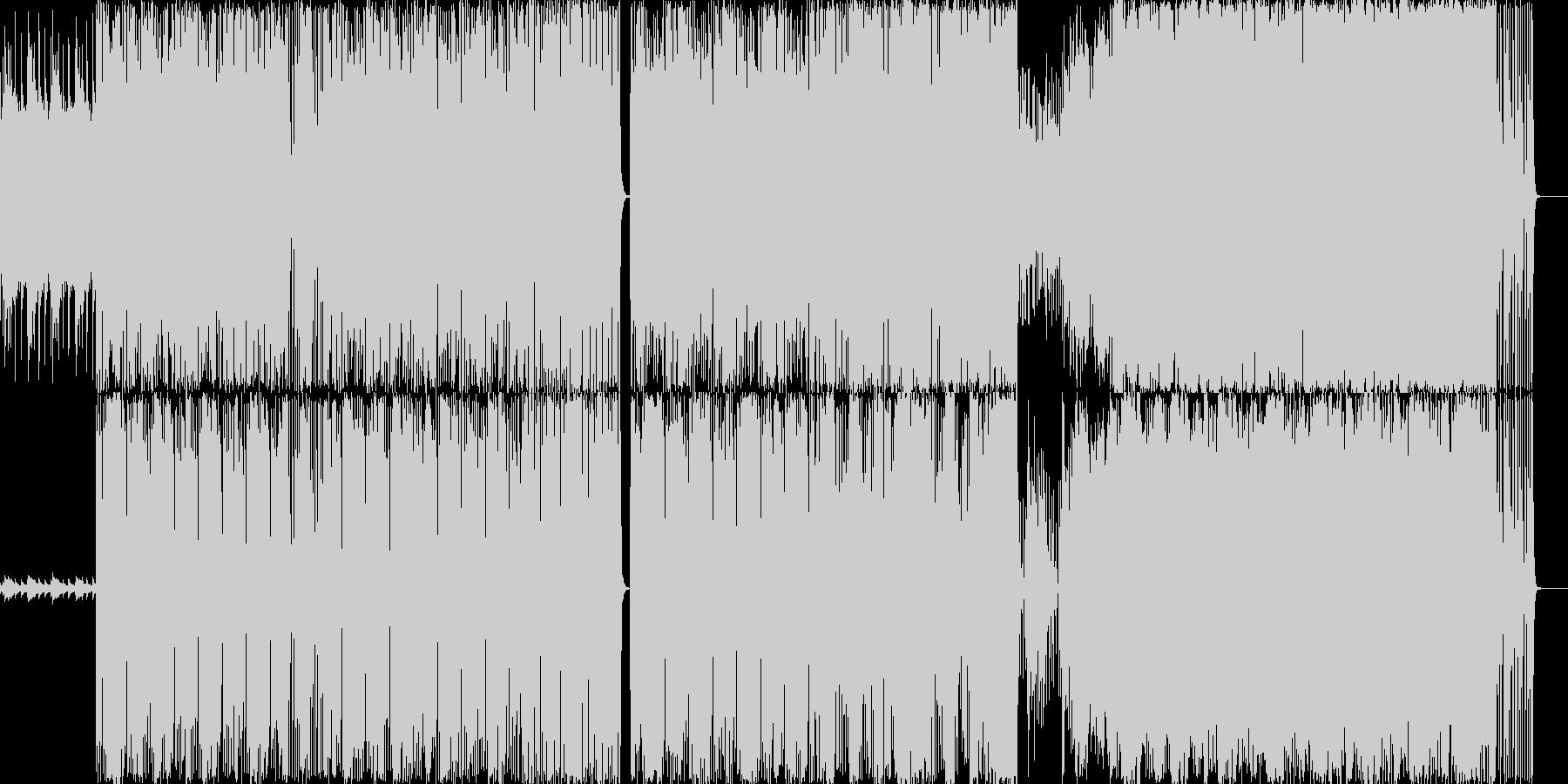 CMで使えるクールなバンドインストの未再生の波形