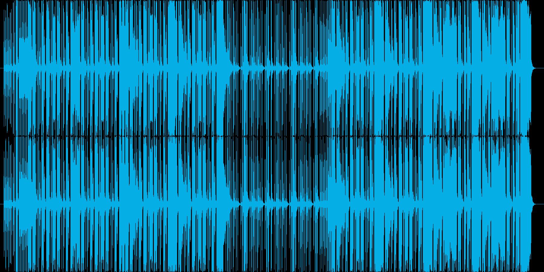 お茶目でコミカル・バカバカしいボイパ曲の再生済みの波形