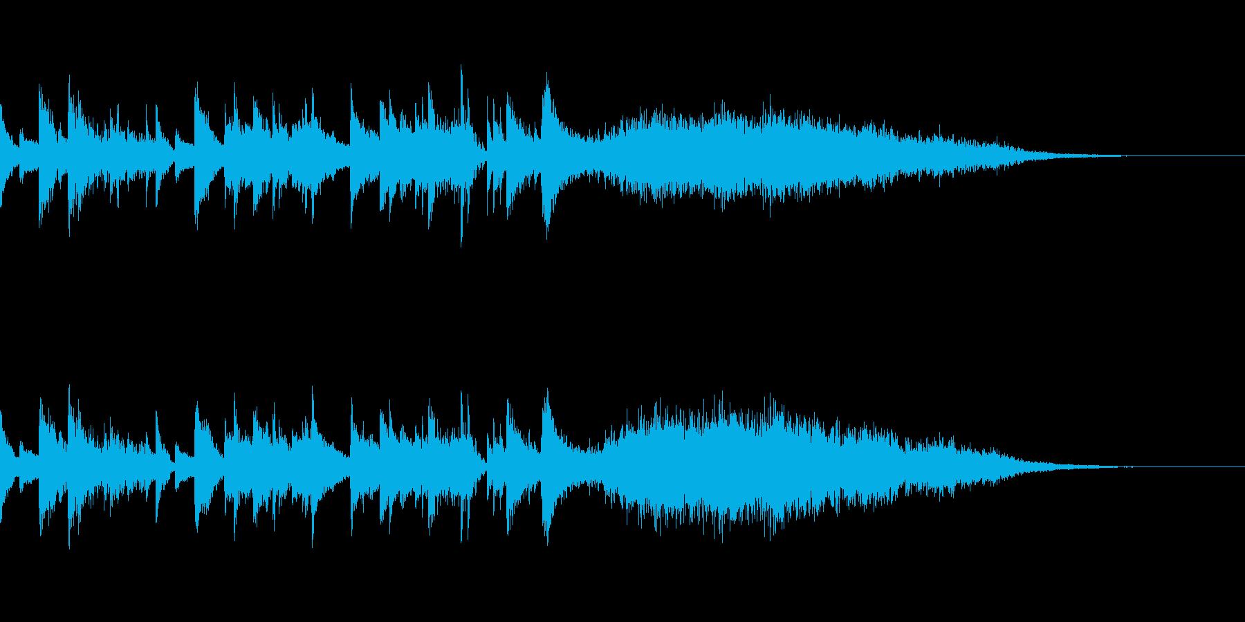 [trio ending]拍手の再生済みの波形