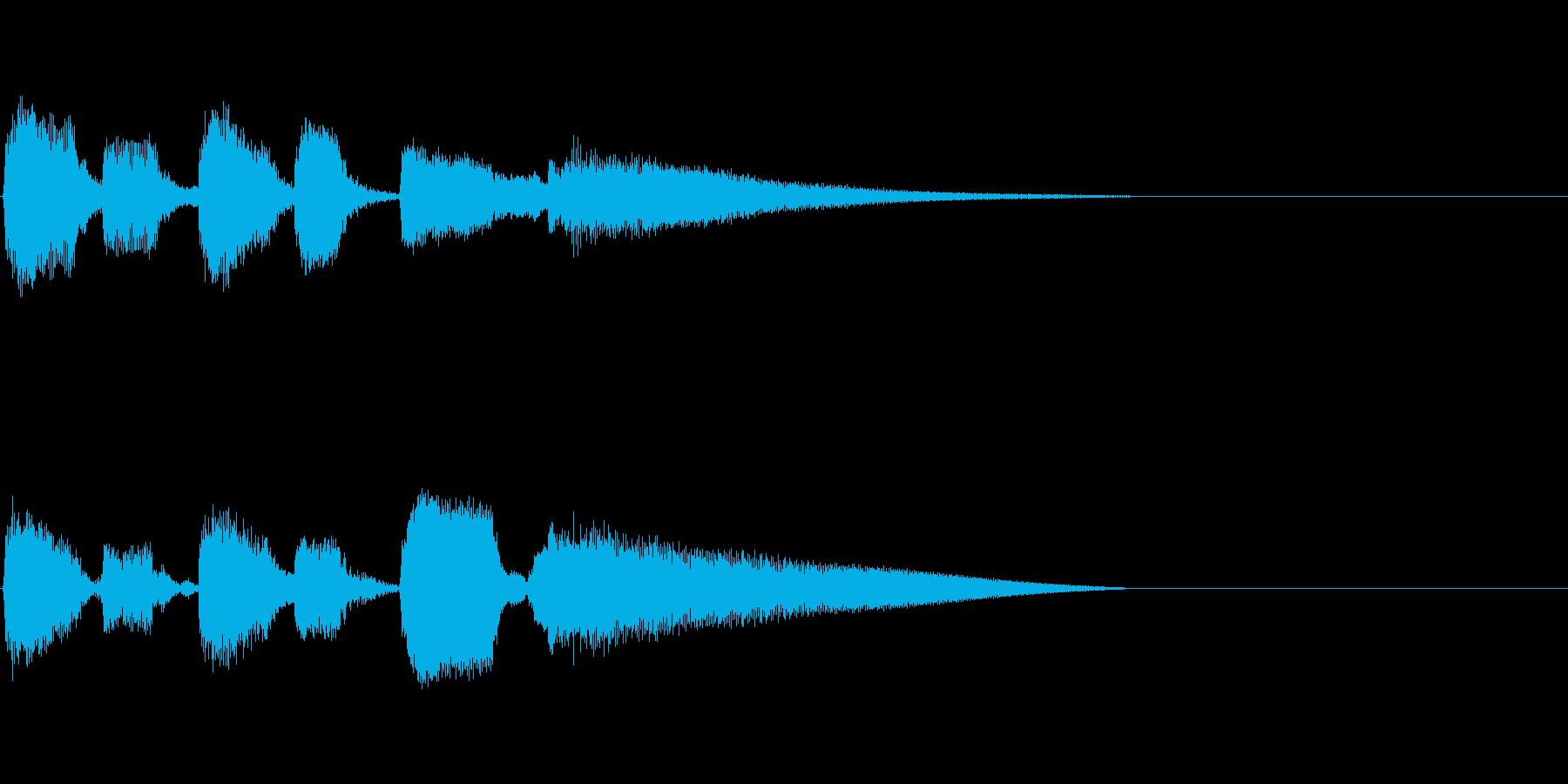 Guitarジングル4/おしゃれコードの再生済みの波形