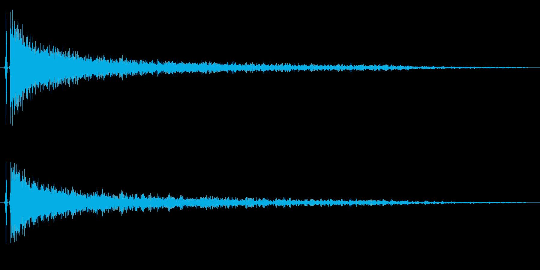 【チャイナシンバル1】中国風な演出に最適の再生済みの波形