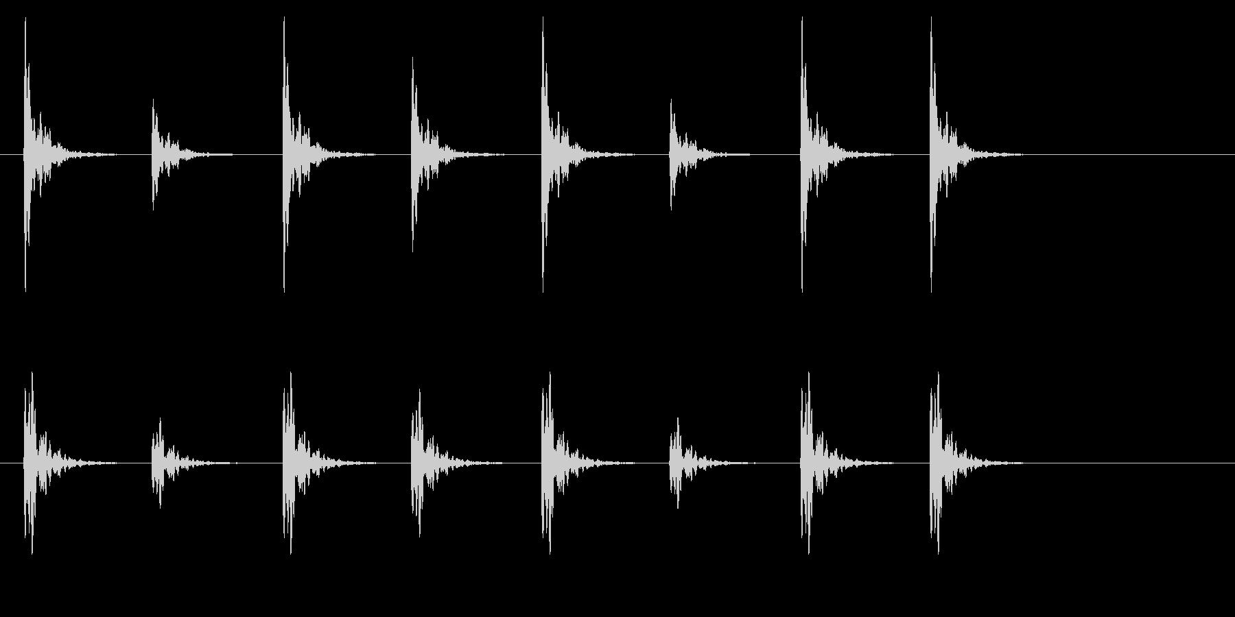 ポクポク2 木魚・シンキングタイム5秒の未再生の波形