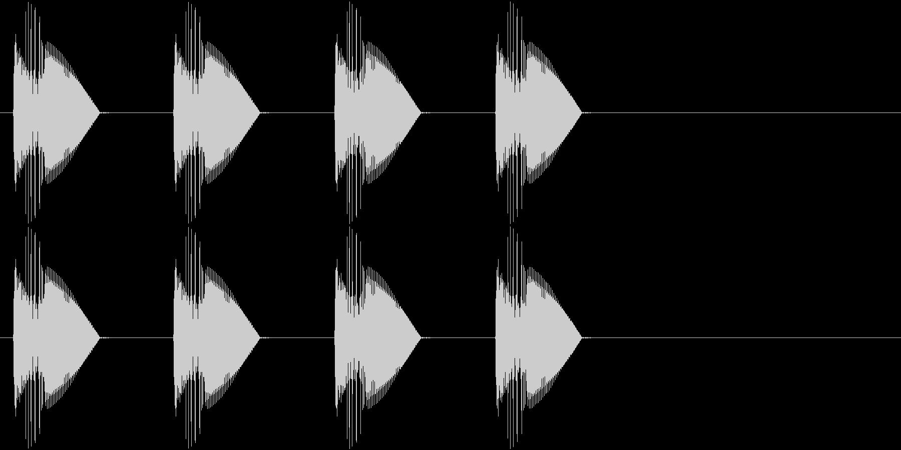 警告・警報・サイレン・ブザー#4の未再生の波形