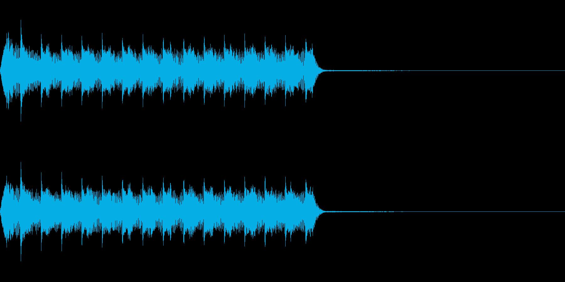 Razor レーザー小銃の連射音 1の再生済みの波形