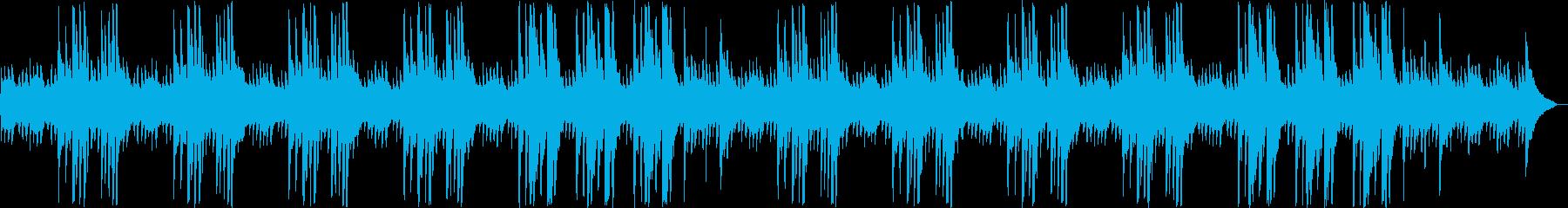 ゆったり哀しげなピアノサウンドの再生済みの波形