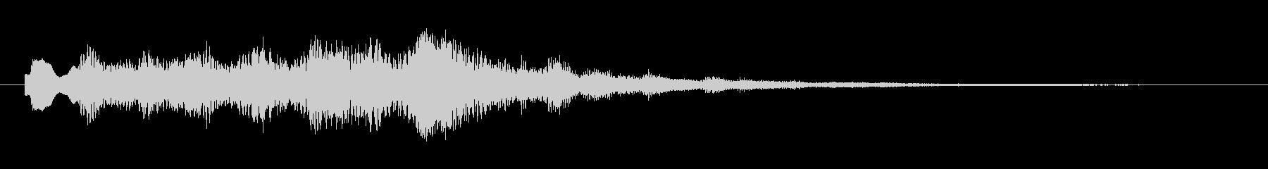 トテトテトテトテの未再生の波形