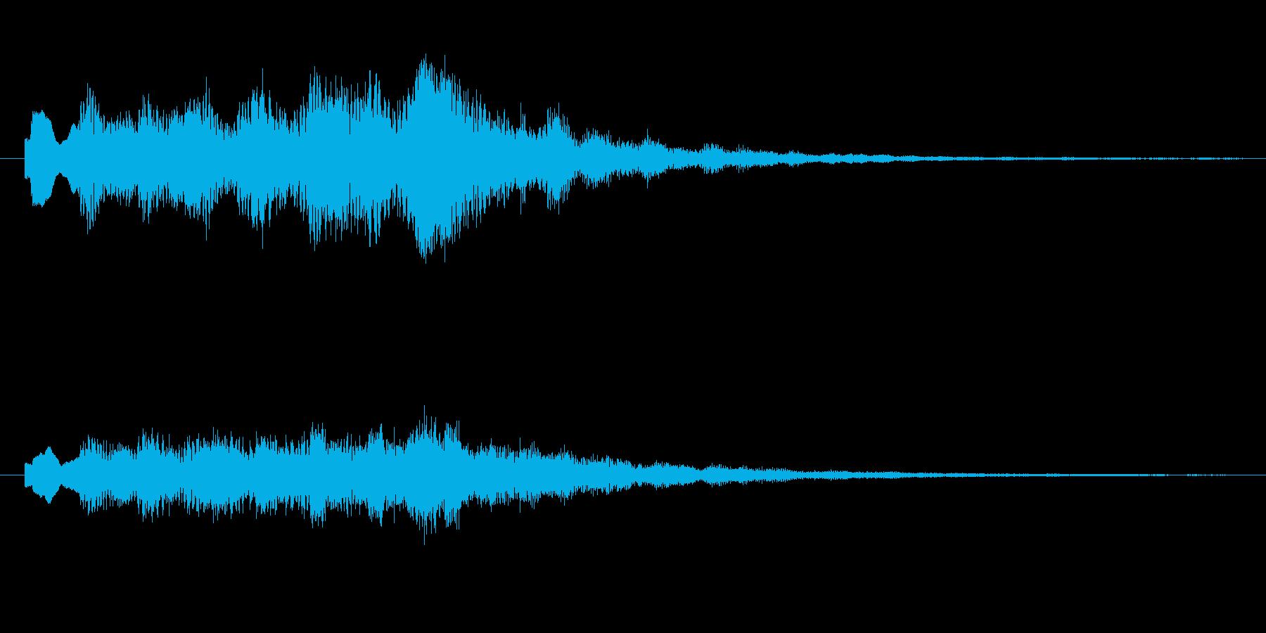 トテトテトテトテの再生済みの波形