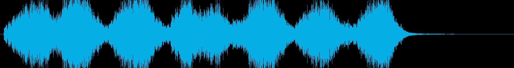no.1 「科学」「闇」「暗闇」 B9の再生済みの波形