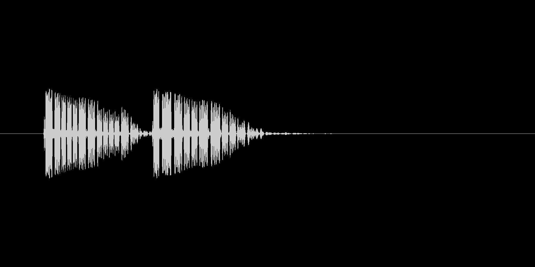 【効果音】メニュー系セットA_キャンセルの未再生の波形