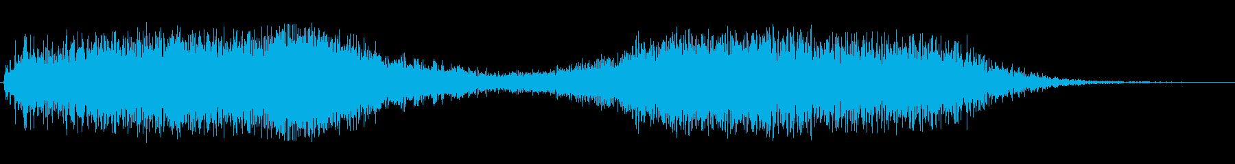 キラキラ(アップダウン)の再生済みの波形