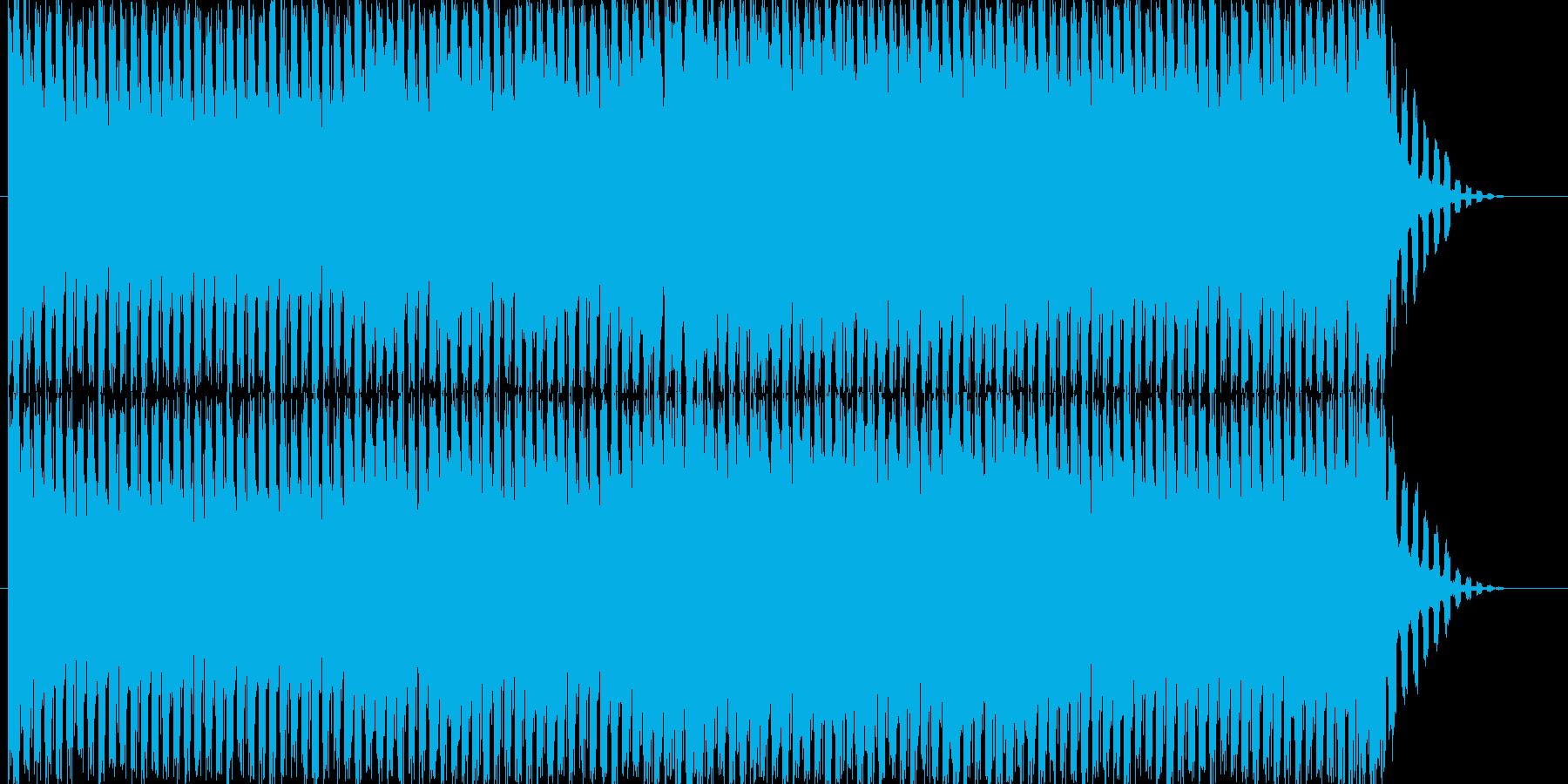 ループ可能、爽やかなゆったりトランスの再生済みの波形