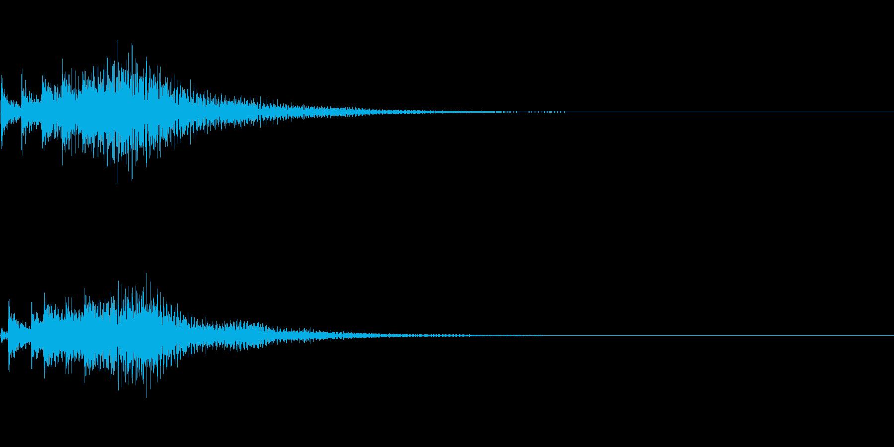 システム音30の再生済みの波形