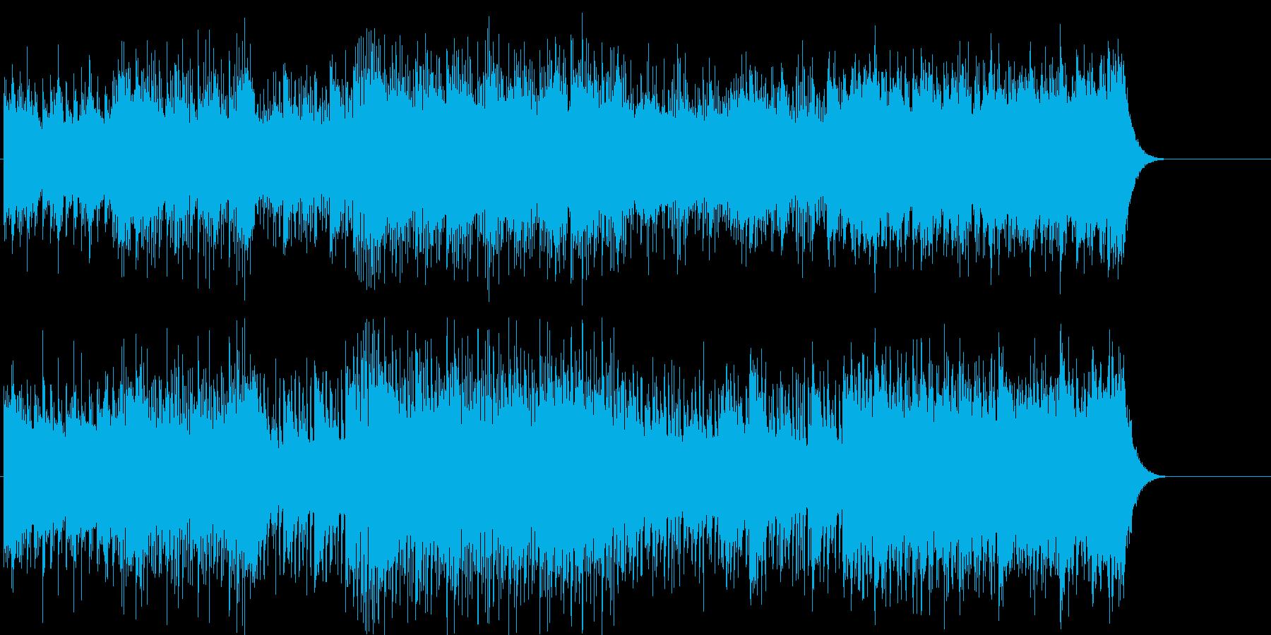 慌ただしい スリル 緊張 機械 重苦しいの再生済みの波形