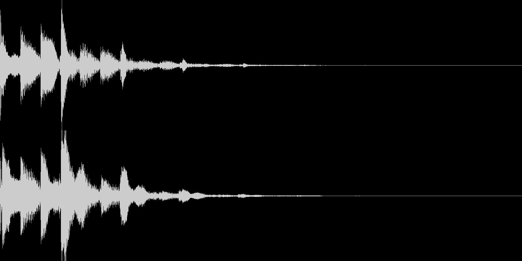 システム音45_シンセCIの未再生の波形