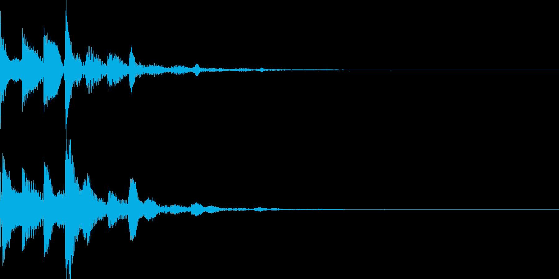 システム音45_シンセCIの再生済みの波形