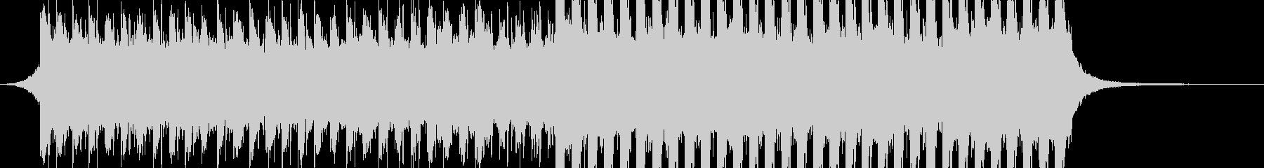 洋楽、夏らしいトロピカルハウス3、30秒の未再生の波形