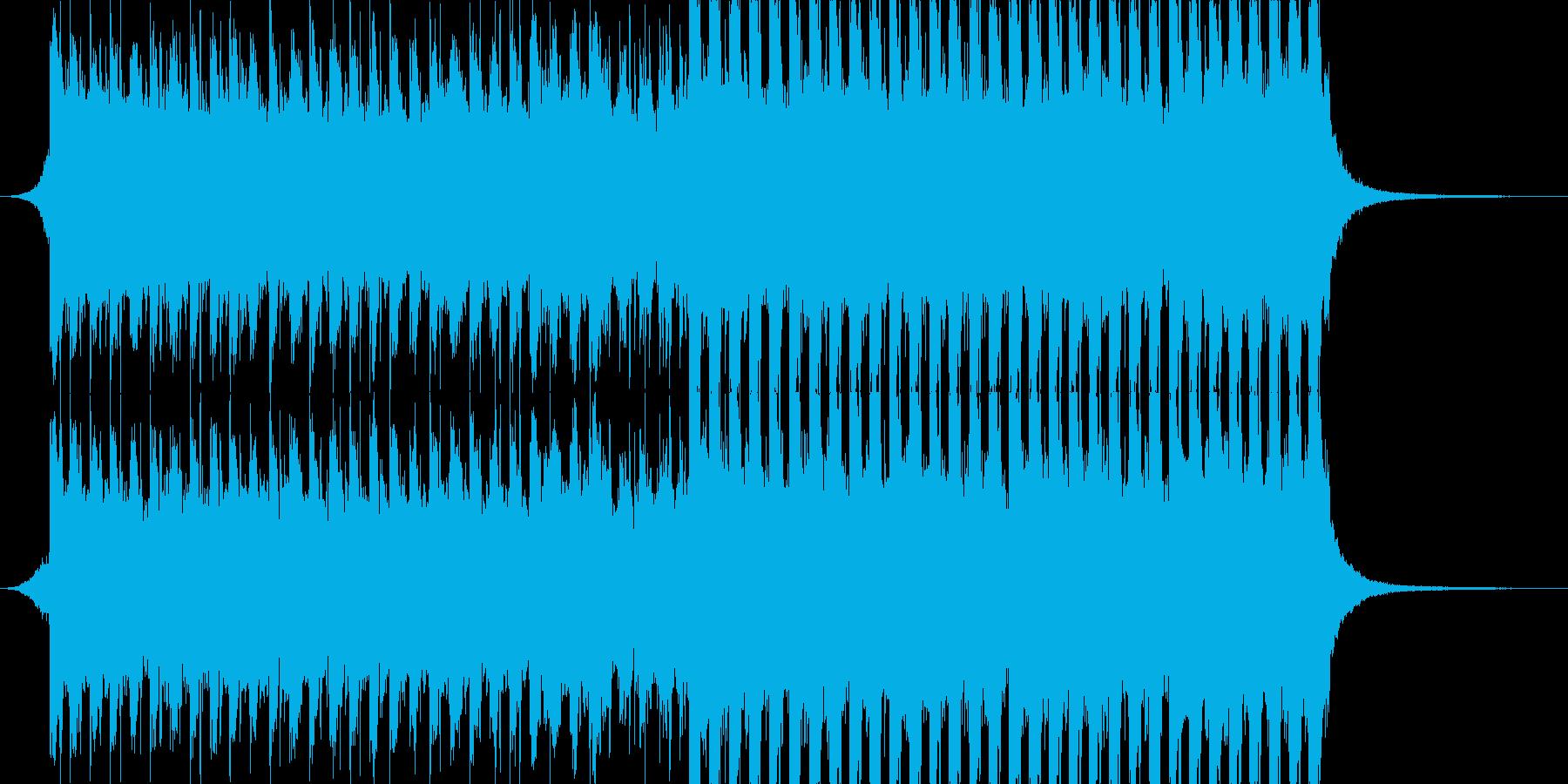 洋楽、夏らしいトロピカルハウス3、30秒の再生済みの波形