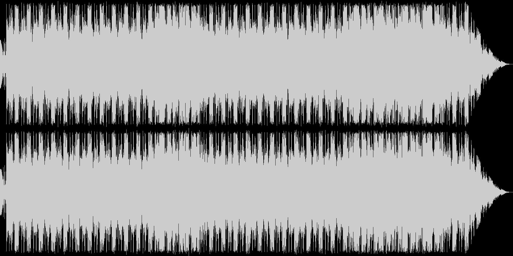 悪博士研究所の曲。の未再生の波形