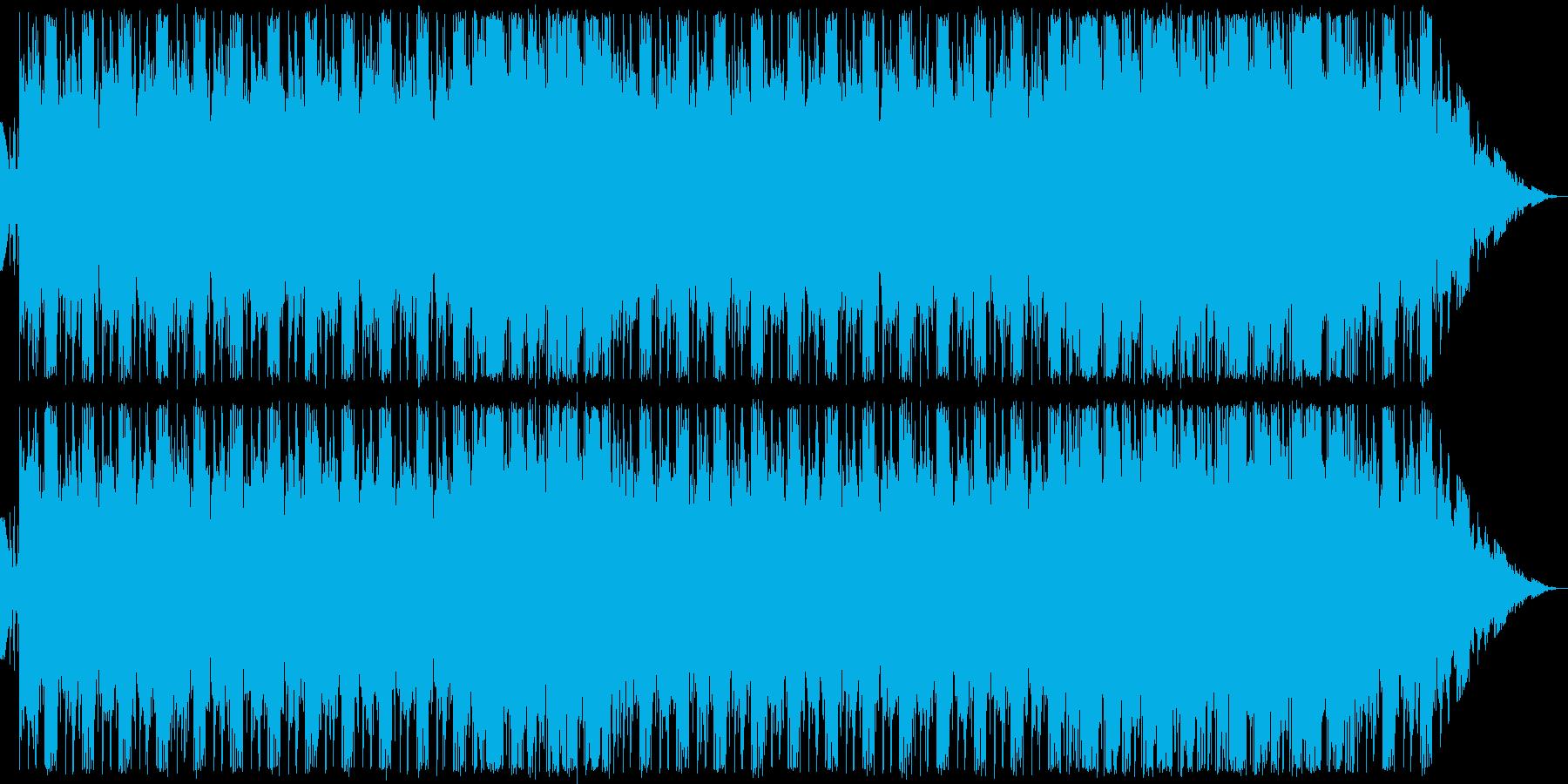 悪博士研究所の曲。の再生済みの波形