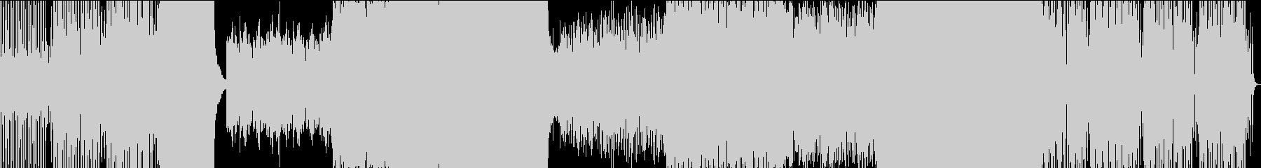 感動的なEDMの未再生の波形
