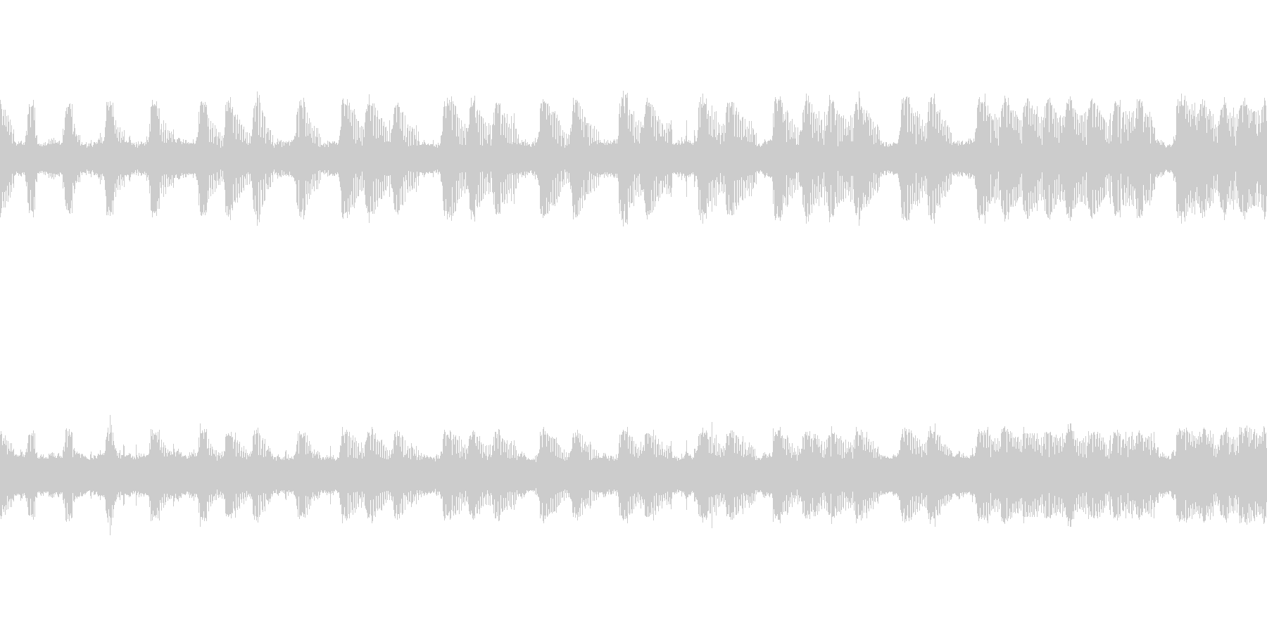 【環境音】虫、鳥─秋の里山その3こおろぎの未再生の波形