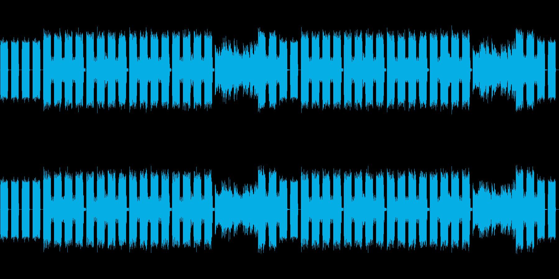 RPG系ダンジョン用BGMの再生済みの波形