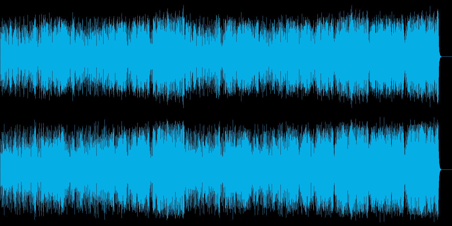 陽気なカントリー風ポップ(フルサイズ)の再生済みの波形