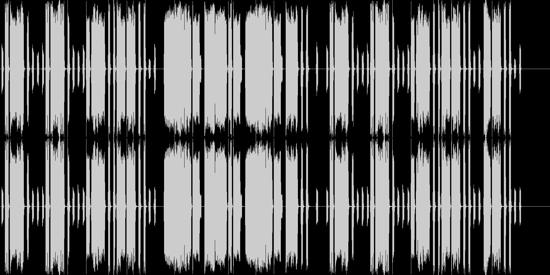 脱力系ほのぼの吹奏楽曲の未再生の波形