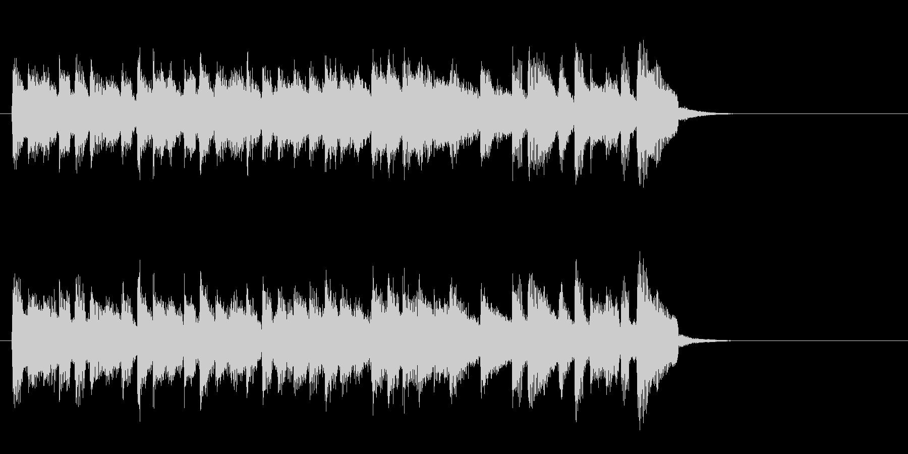 スローなピアノバラード(イントロ)の未再生の波形