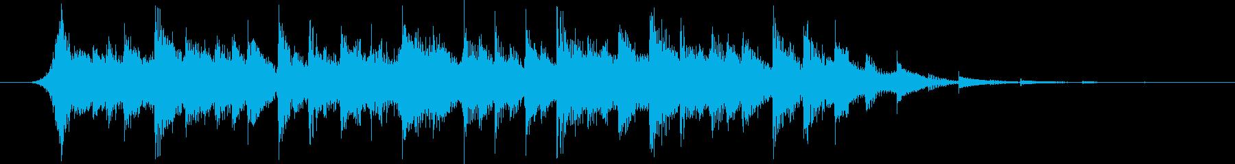 ニュースのアイキャッチや企業VPにの再生済みの波形