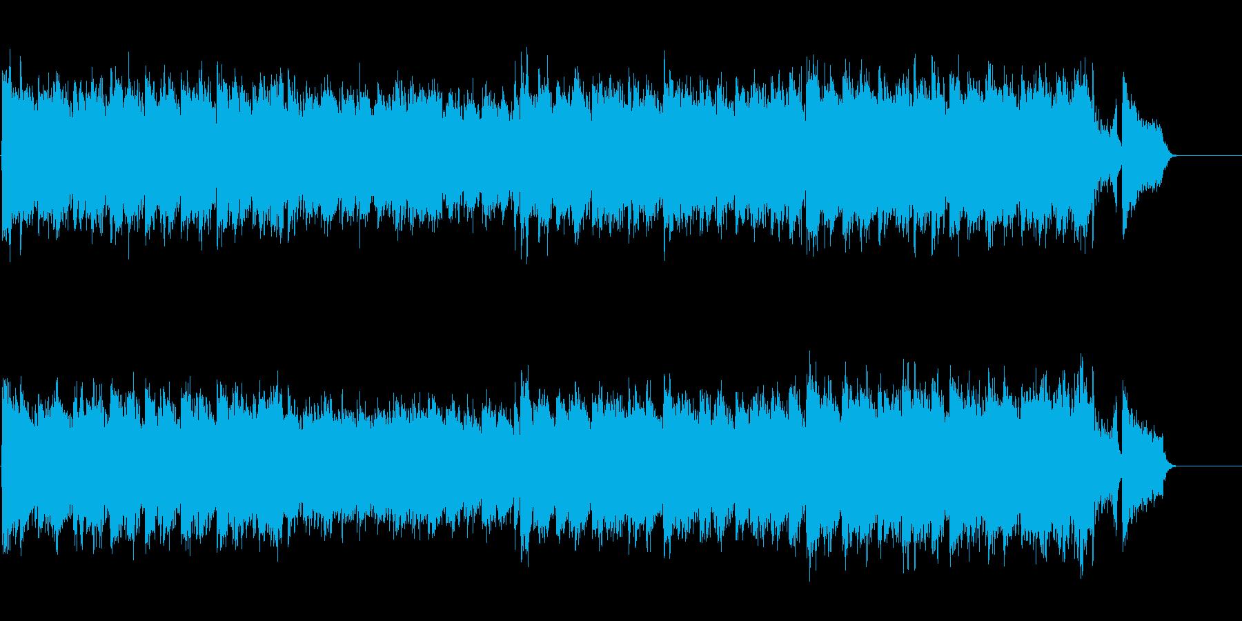 スタンダードなチャイニーズ・ポップ風の再生済みの波形