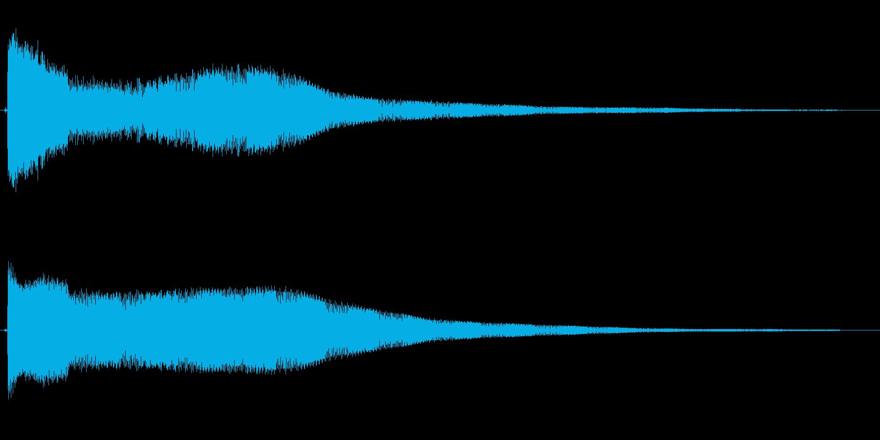 ピロロロローン(宇宙,近未来的)の再生済みの波形