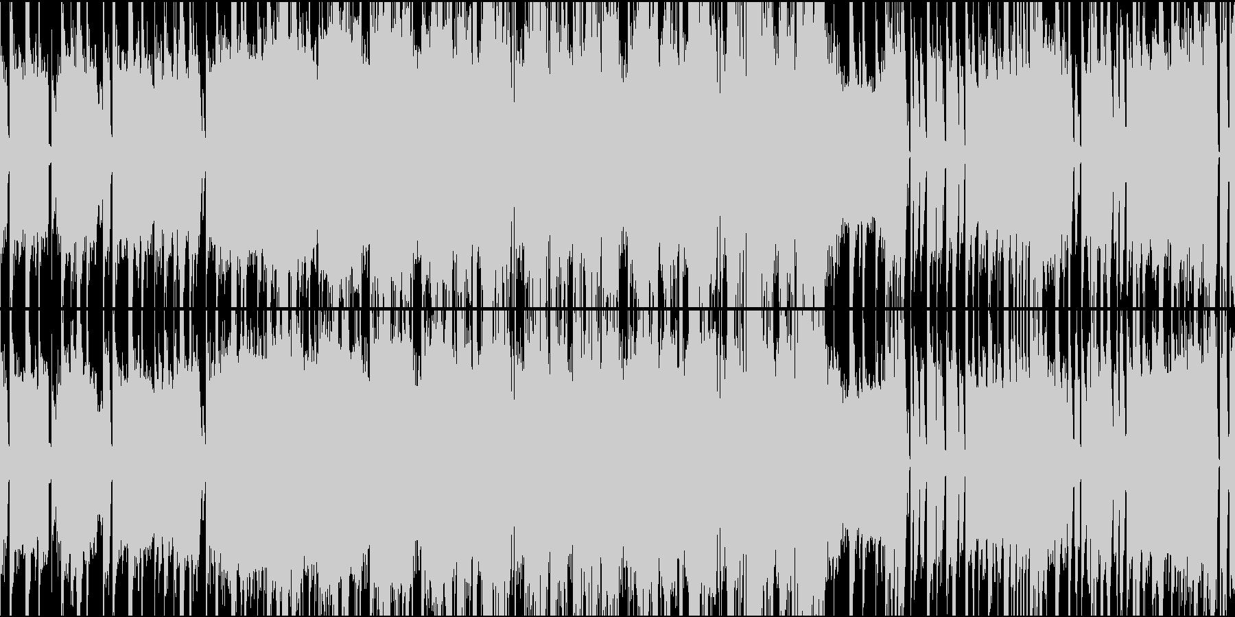 テンションが上がるEDMループ ダブステの未再生の波形