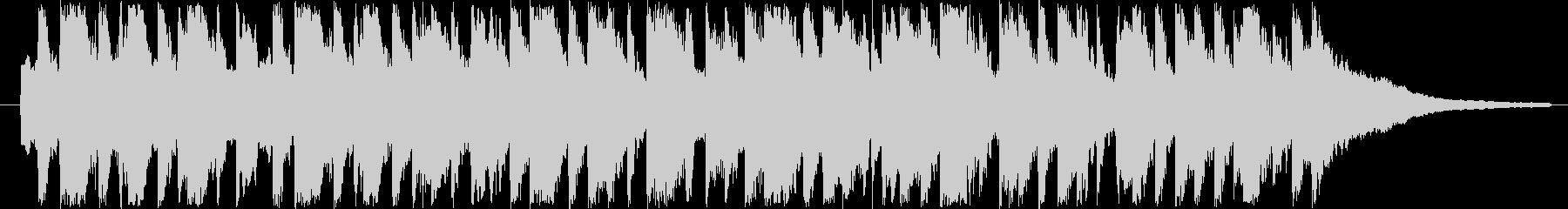 30秒CM用BGM(可愛らしいワルツ)の未再生の波形