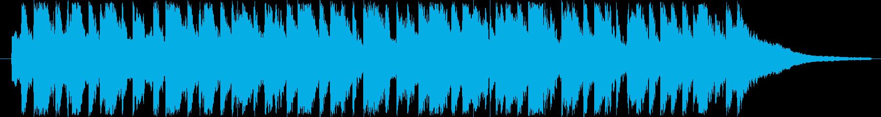 30秒CM用BGM(可愛らしいワルツ)の再生済みの波形