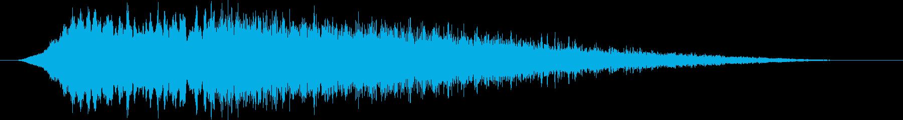 ディスコサイレン タイプBの再生済みの波形