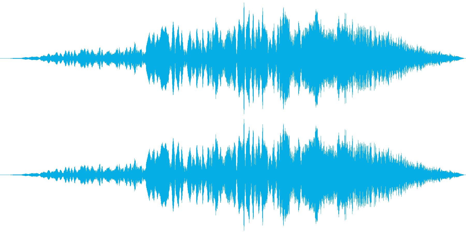 車 レース ブレーキ/タイヤスキール音8の再生済みの波形