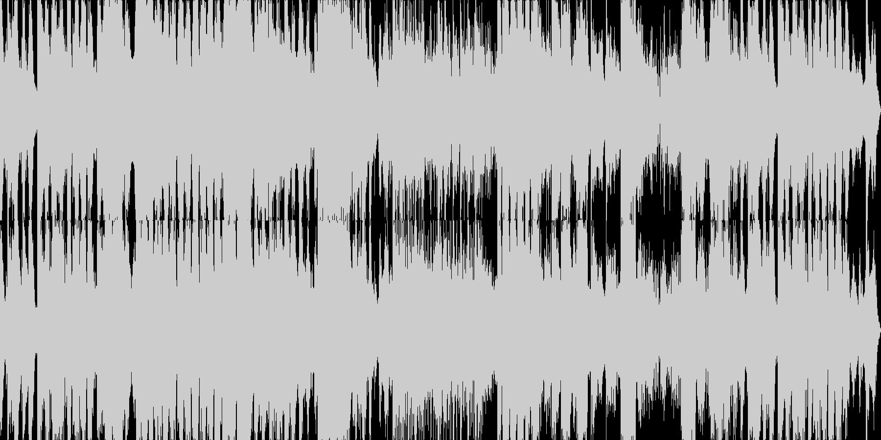 壮大な映画音楽的BGMの未再生の波形