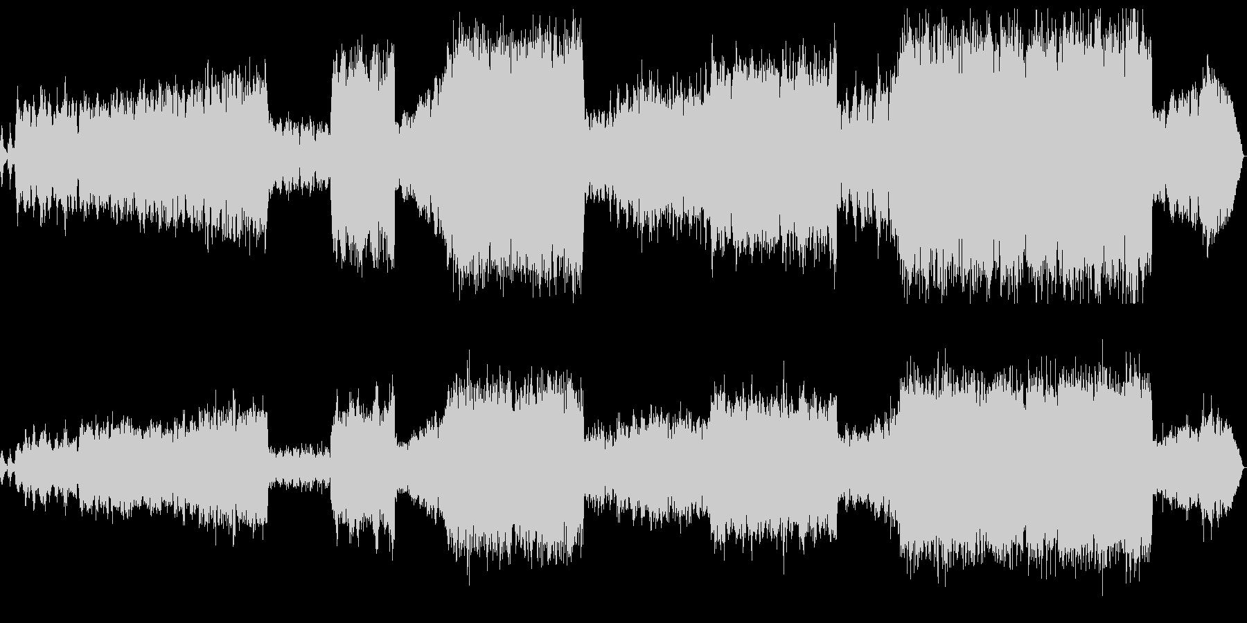 弦楽とピアノによる室内楽の未再生の波形
