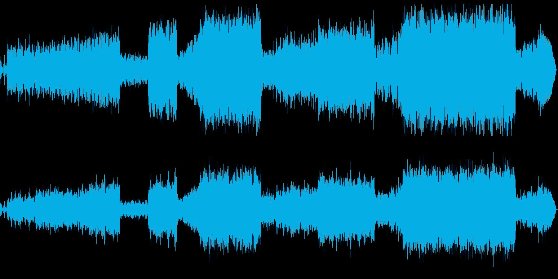 弦楽とピアノによる室内楽の再生済みの波形