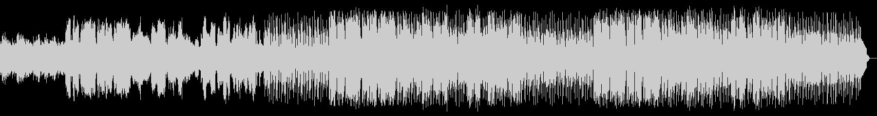 昭和レトロ感のあるビギンをサックスが演奏の未再生の波形
