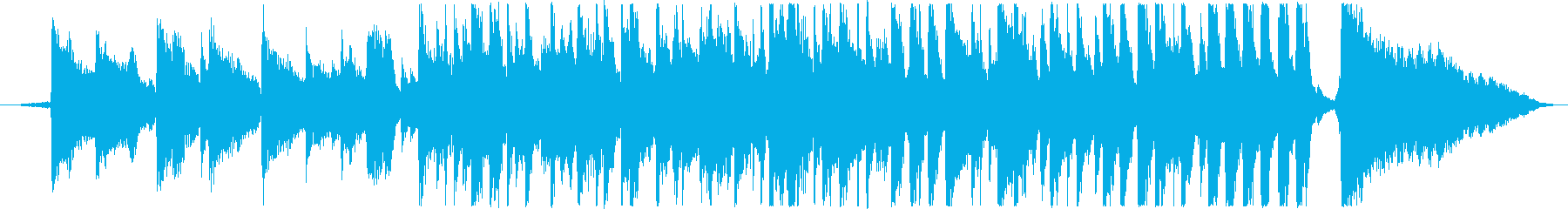 30秒CM用(JAZZ)の再生済みの波形