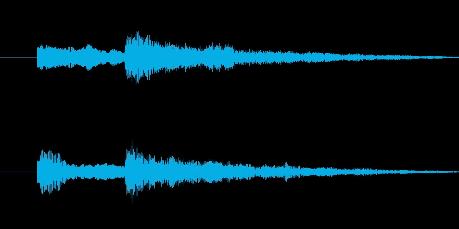 ティントーンの再生済みの波形