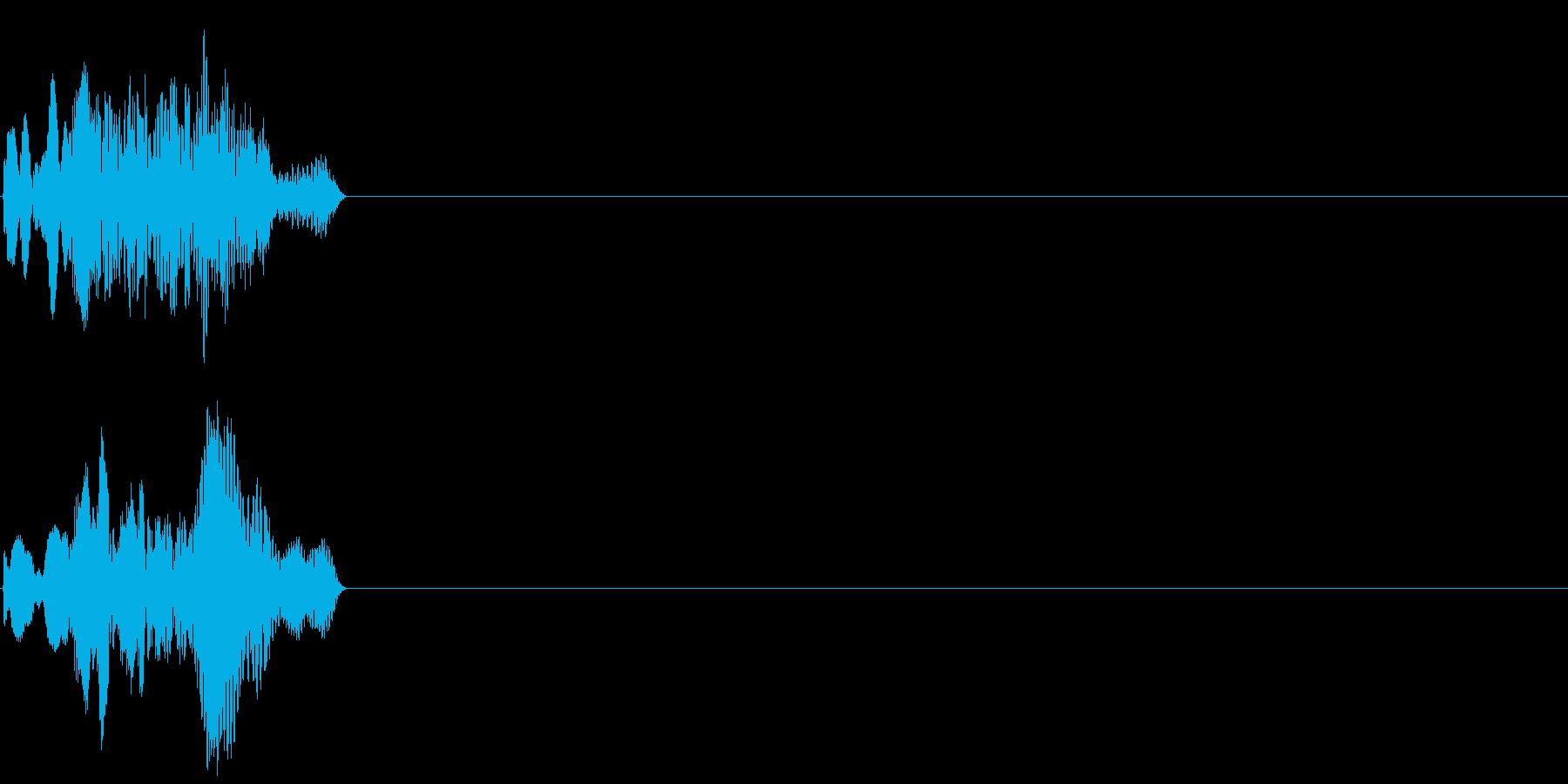 ホワホフィー(未来的なサウンド)の再生済みの波形