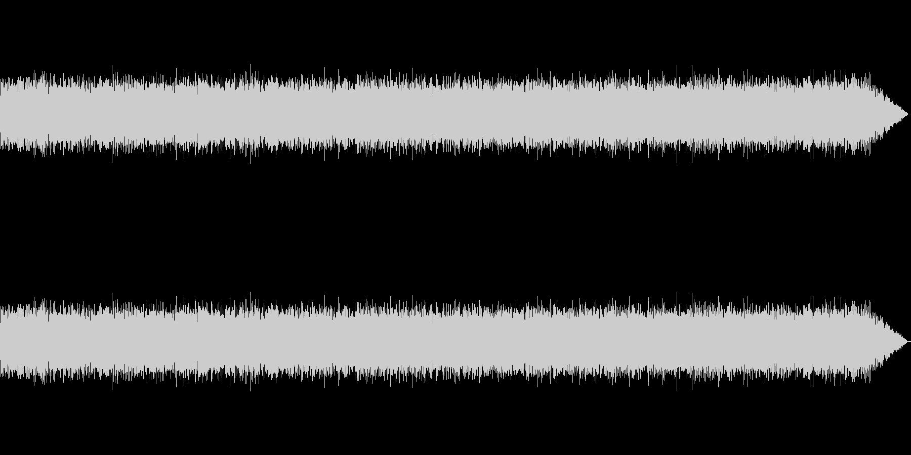 ゴーーーーーー(環境音、荒廃、風)の未再生の波形