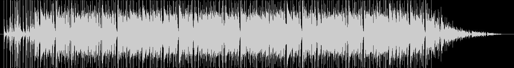 フュージョン系サウンドの未再生の波形