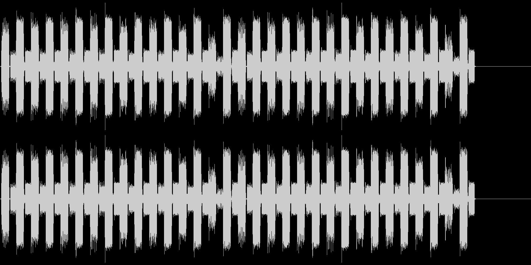 ループ用音源の未再生の波形