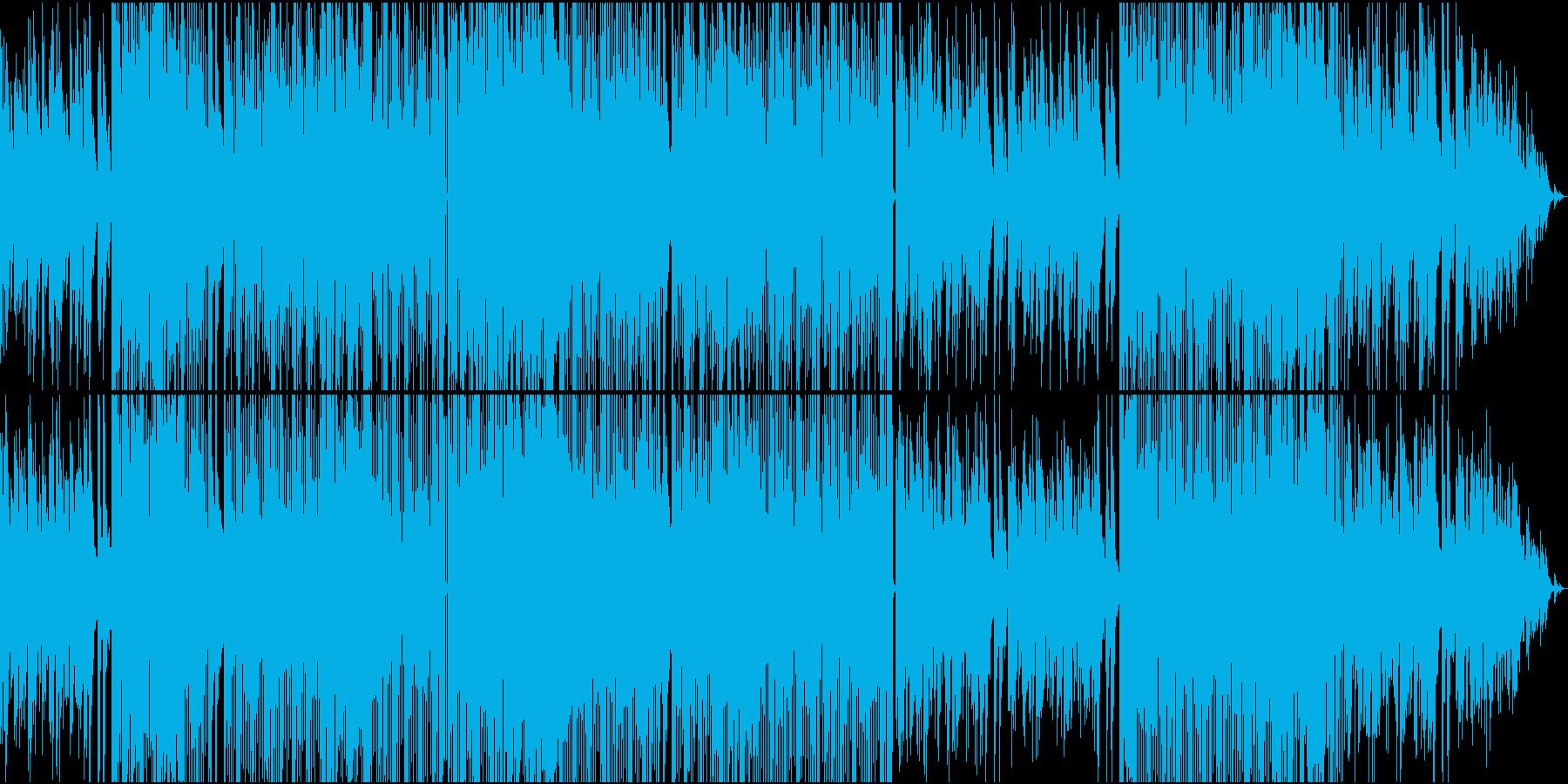 切ないメロディのR&B系バラードの再生済みの波形