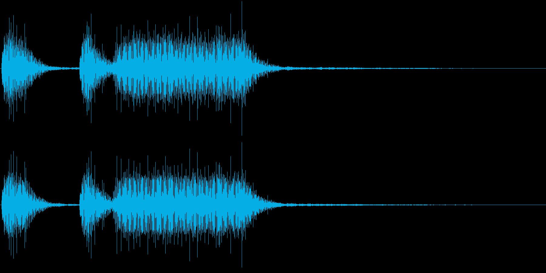 パンパカパーン!(発見・正解時のラッパ)の再生済みの波形
