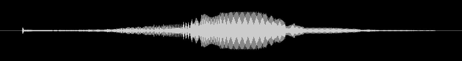 SFっぽい電子音。キャンセルボタンなど…の未再生の波形